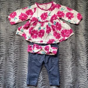 Jeans outfit 3-6 months
